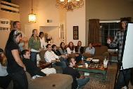 Game Night at Dr. Kocurs house