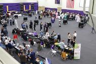 Full view of the new venture fair at Cal Lutheran