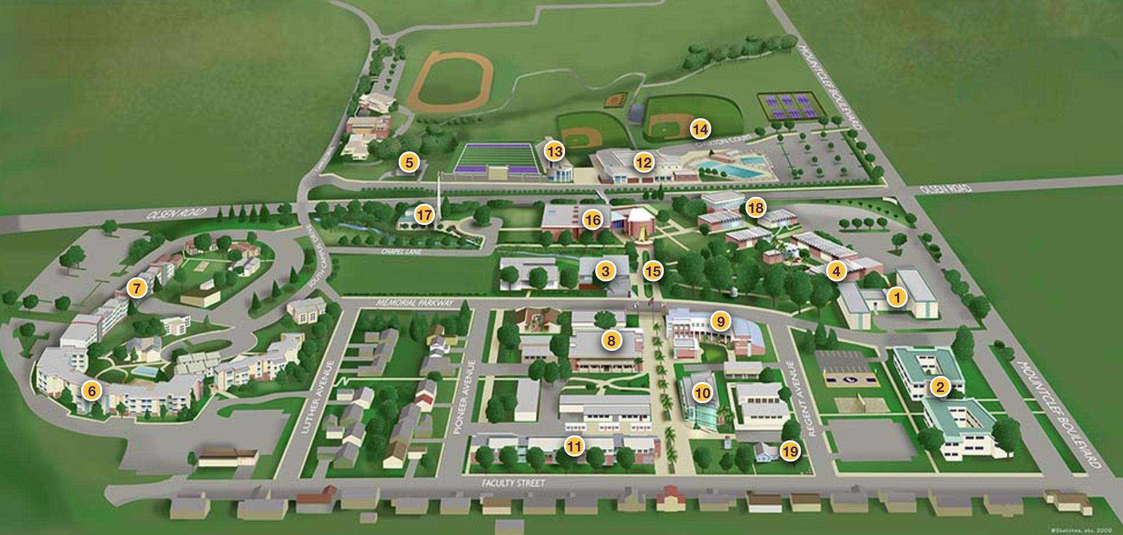 cal lutheran campus map Experience Cal Lutheran Cal Lutheran cal lutheran campus map