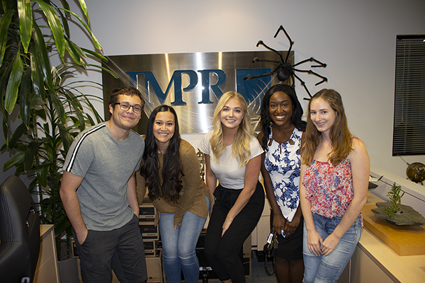 PRSSA Students Tour JMPR