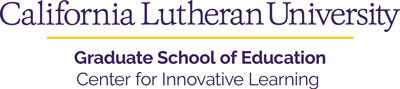 California Lutheran University - Graduate School of Education - Center for Innovative Learning - Logo
