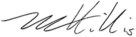Michael Hillis Signature