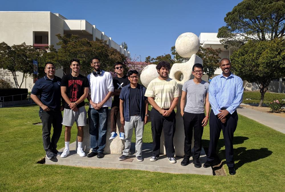 CHESS students & coaches at Moorpark College mentoring event.