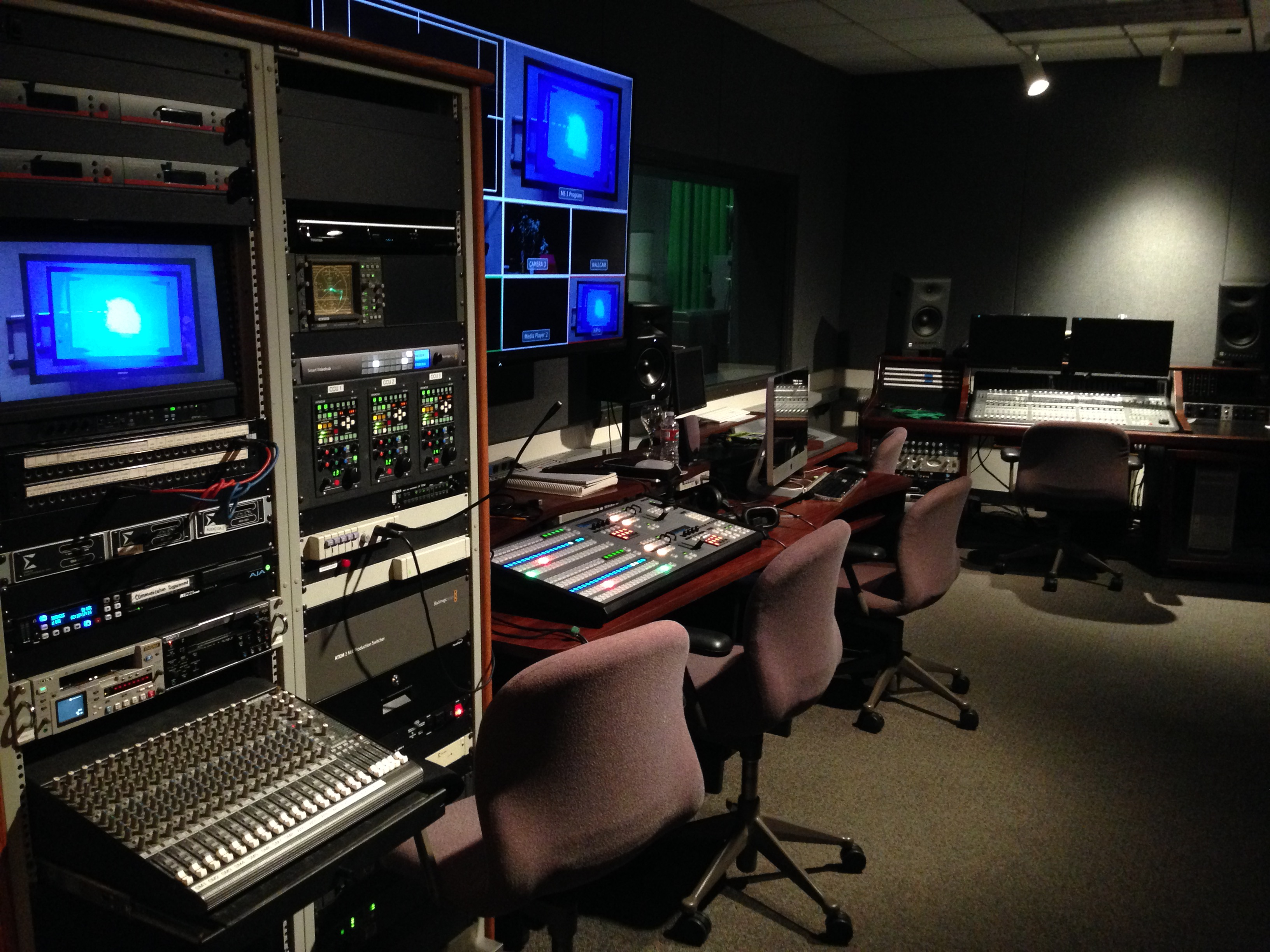 TV Studio - ITS | Cal Lutheran