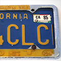 CLC license plate