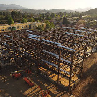 Science Building Construction