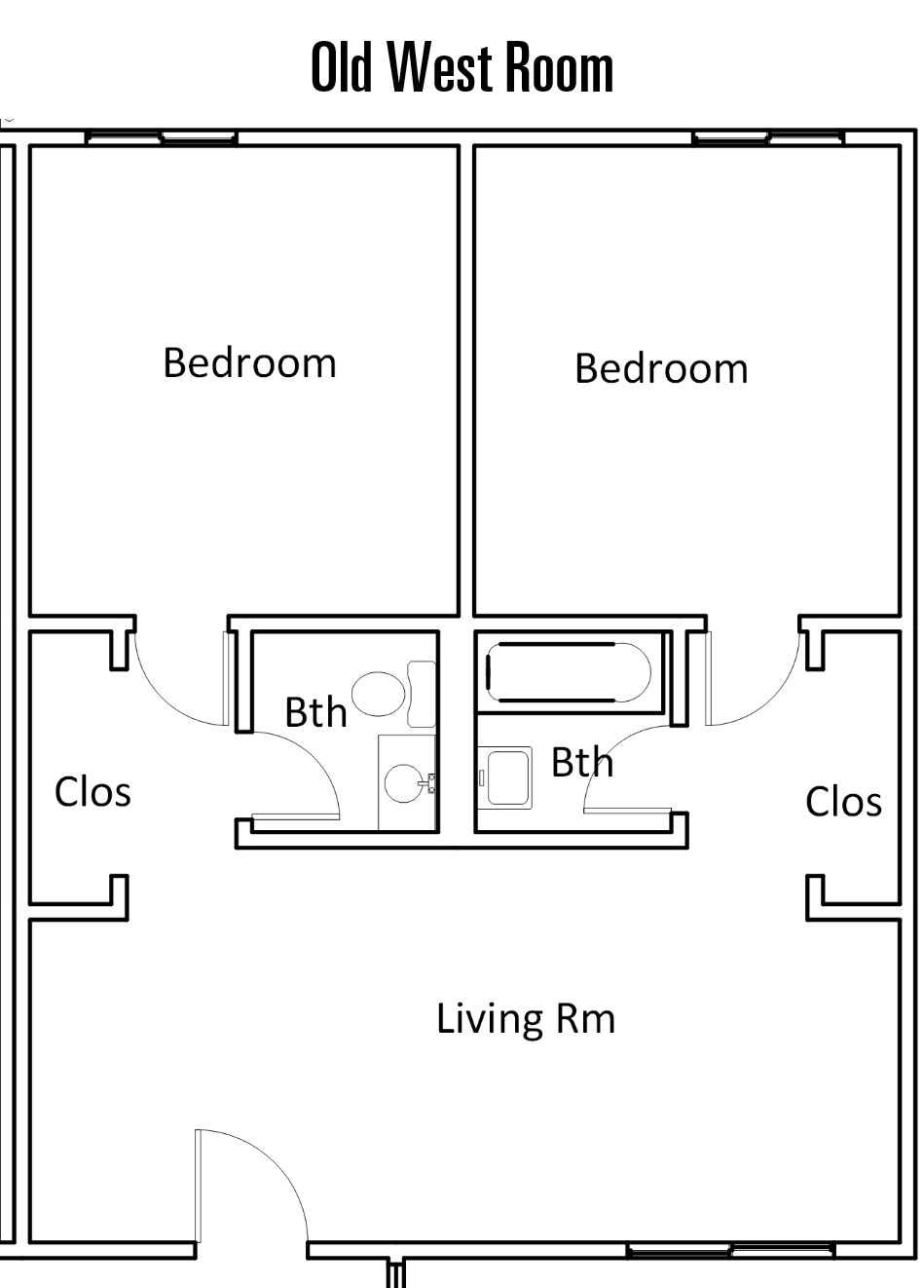 Mt. Clef Floorplan