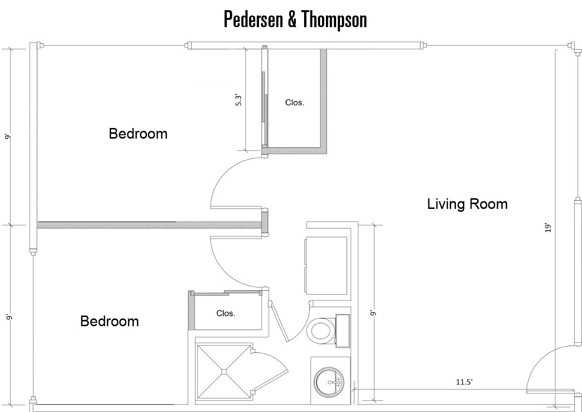 Pederson & Thompson Floorplan