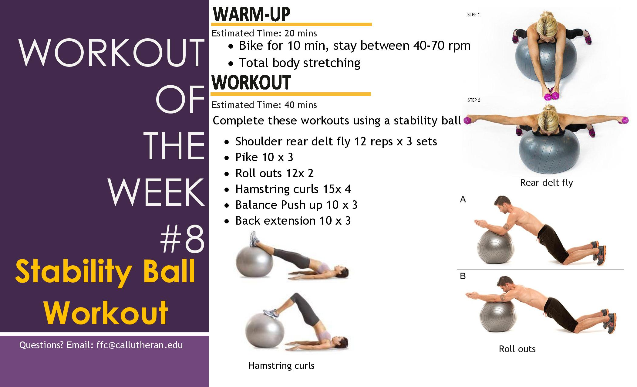 Workout of The Week! (All for your core) - Get Fit Like That