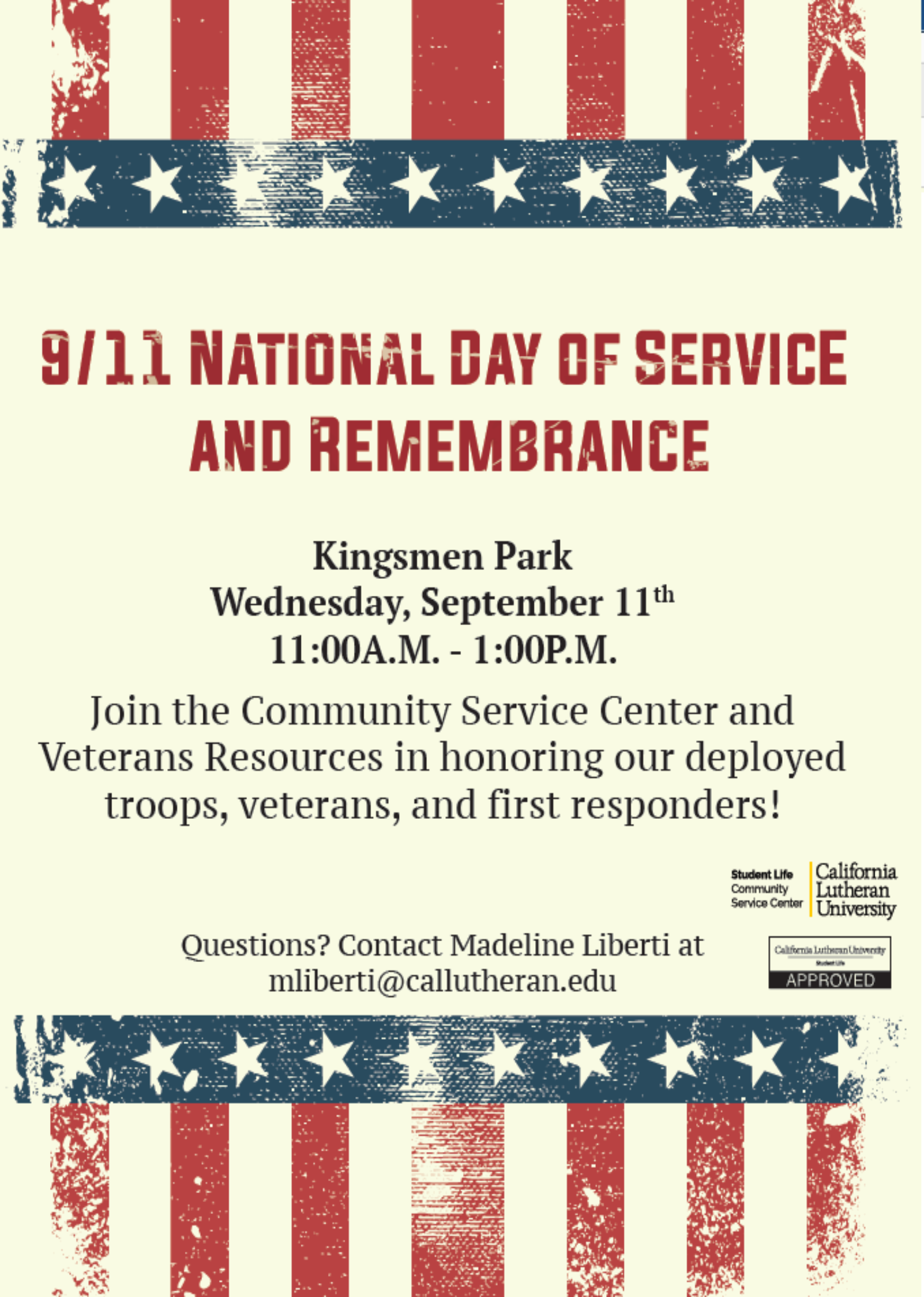 9/11 Remembrance Event